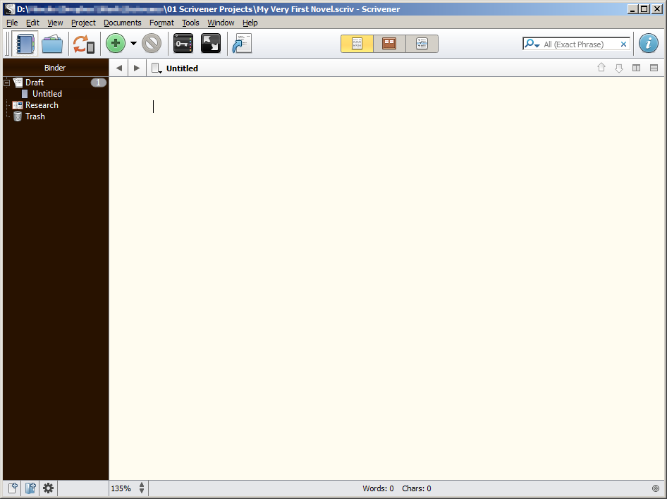 Scrivener for Windows
